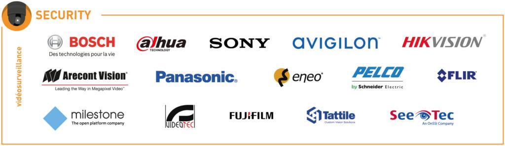 écostystème partenaires Vidéosurveillance